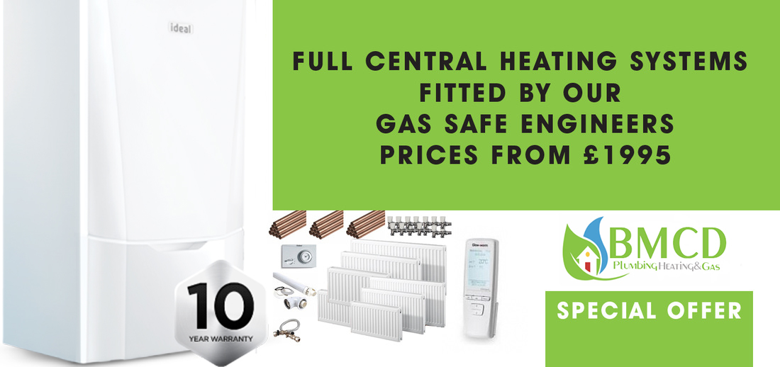 central heating systems from only £1995
