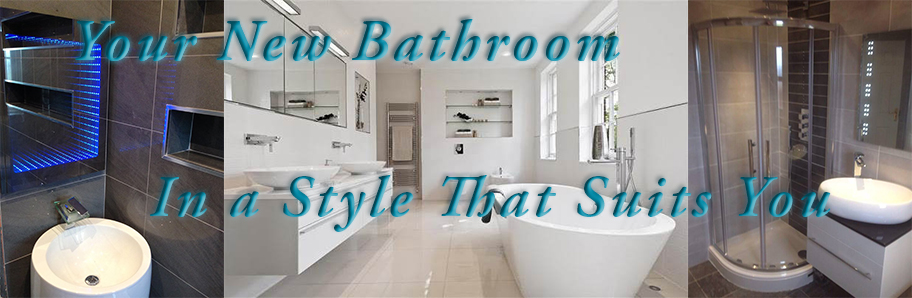 Bathroom Design in a style that suits you.