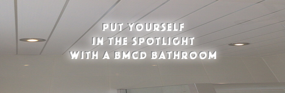Put yourself in the spotlight with BMCD Bathroom Lighting